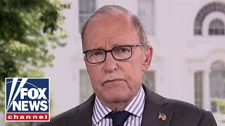 Larry Kudlow sees 'glimmers of hope' for US economy