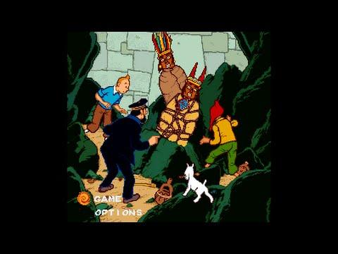 Tintin Prisoners Of The Sun SNES