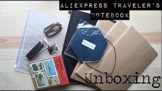 AliExpress Traveler's Notebook Unboxing