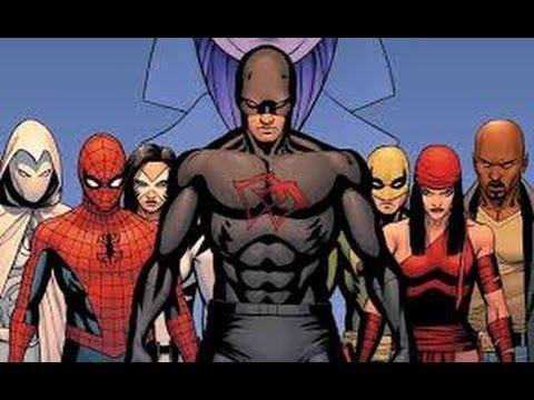 DAREDEVIL MASACRA A LOS VENGADORES - Spiderman, Wolverine, Luke Cage, thor
