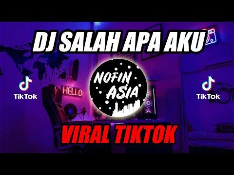 DJ Salah Apa Aku TIKTOK| Original Remix Full Bass Terbaru 2019 (Entah Apa Yang Merasukimu)
