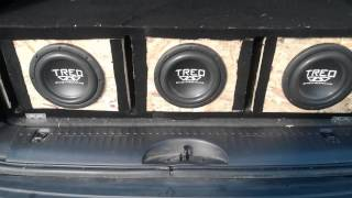 Sealed Vs Ported with 8 inch Treo Subs