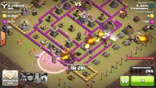 Clash of Clans / Rathaus 7 Base / Nach Update / Immer 3 Sterne / Clankrieg