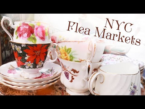 Antique Hunting at New York City's Weekend Flea Markets