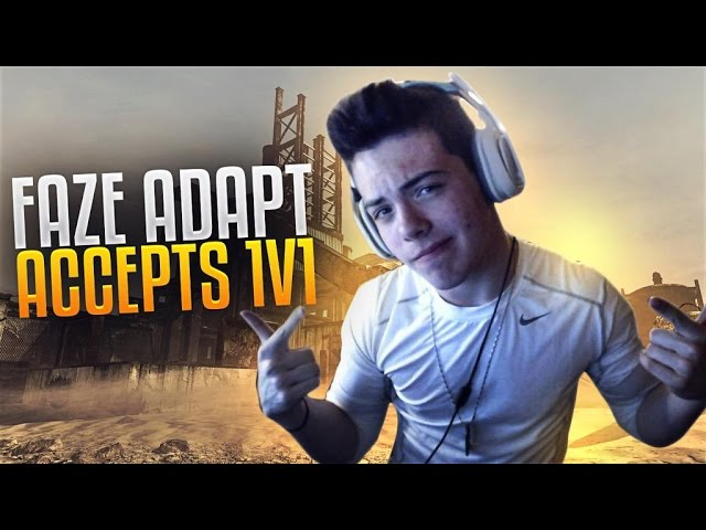 FaZe Adapt Accepts 1v1 | Best of YouTube