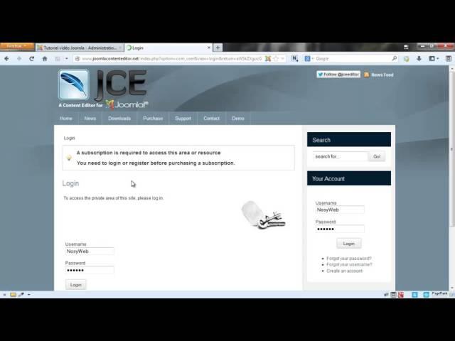 Joomla 3 - Les meilleurs plugins additionnels à installer pour JCE