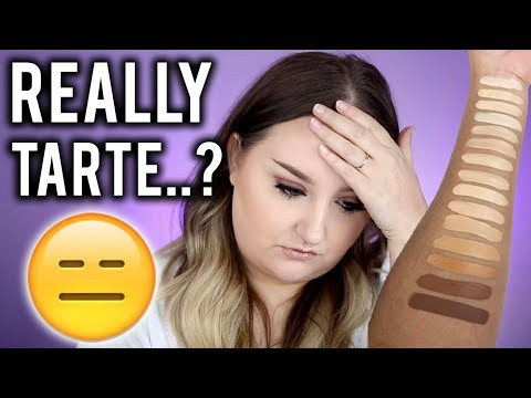 REALLY, TARTE..??? | TARTE SHAPE TAPE FOUNDATION | MY THOUGHTS & REVIEW