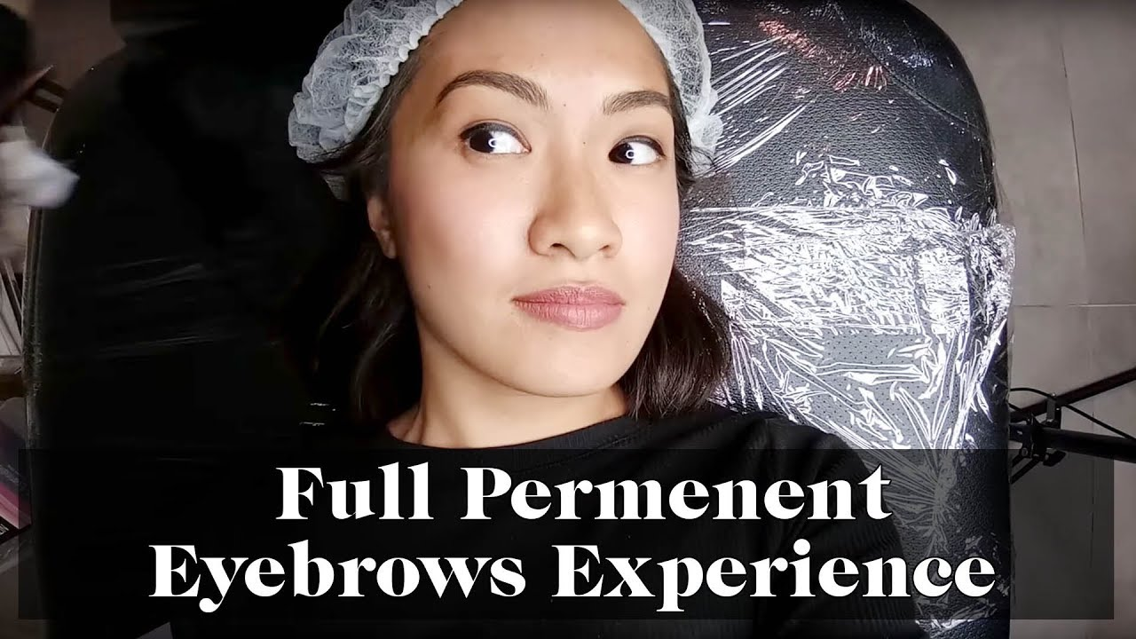 What It's Like To Get Permanent Eyebrows | Laureen Uy