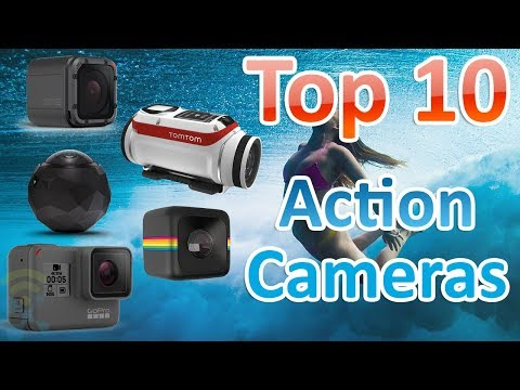 TOP 10 Best Cheap Action Cameras in 2017 - 4K, GoPro and WaterProof