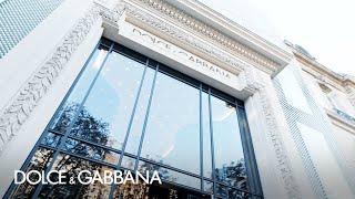 #DGParisiens: Dolce&Gabbana Boutique in Avenue Montaigne