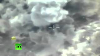 Latest footage of Russian anti-ISIS airstrikes in Syria