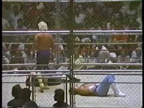 Jerry Lawler vs. Austin Idol - Hair vs. Hair Steel Cage Match (4/27/87)