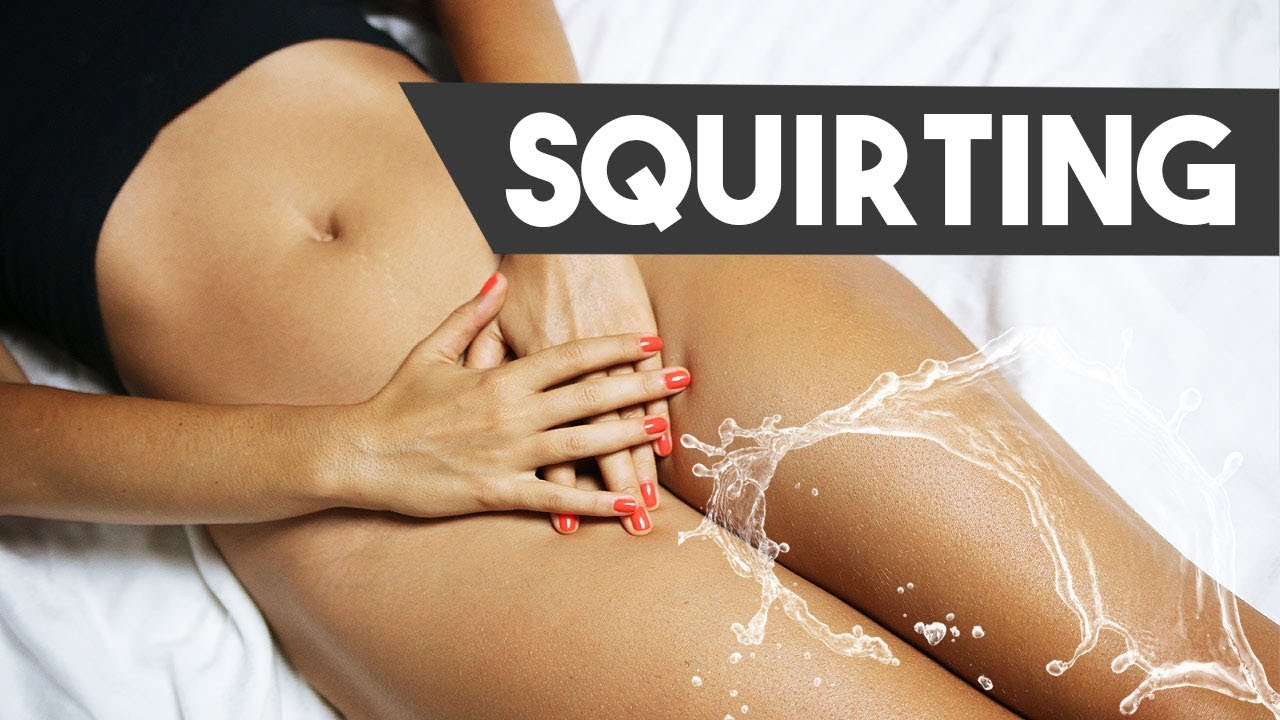 squirting black girl