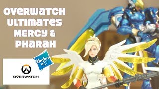 Overwatch Ultimates Hasbro Mercy Ange & Pharah Blizzard action figure 2 pack