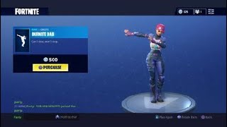 Infinite Dab in Fortnite bass gets loud ASF Listen with MAX VOLUME AND HEADPHONES