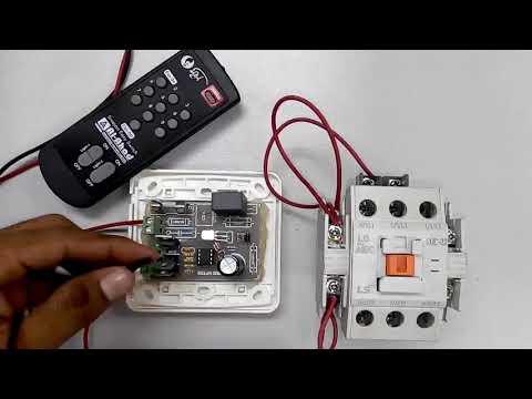 দেখুন কিভাবে মেগনেটিক কন্ট্রাকটর রিমোর্ট কন্ট্রোল করবেন।Megnetic controctor remote Comtrol Circuit.
