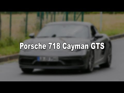 Porsche 718 Cayman GTS spotted in final stages of testing