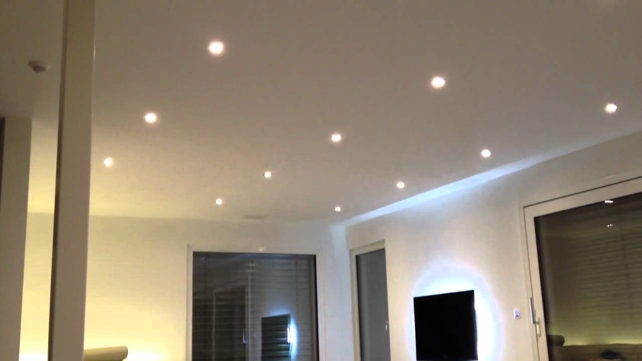 led spots einzeln steuern via iphone youtube. Black Bedroom Furniture Sets. Home Design Ideas
