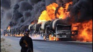 Россия уничтожила конвой нефти ИГИЛ