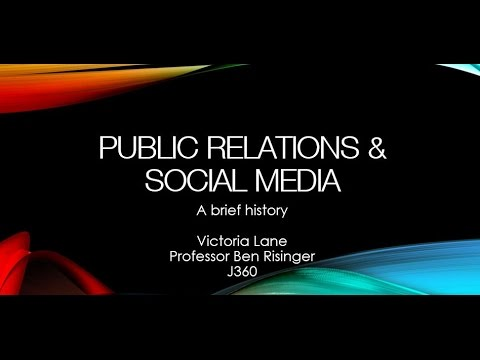 the history of public relations Origin & development of public relation  we can deduce from the above two examples that the history of public relations in the areas now constituting pakistan is.