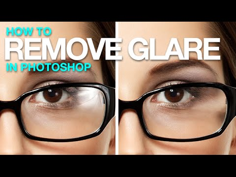 sun glare glasses  How to Remove Glare from Glasses in Photoshop - YouTube