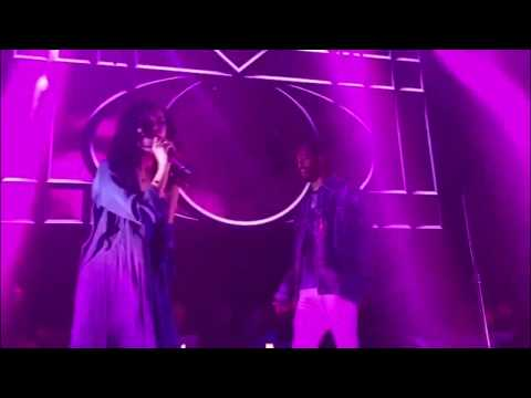 Jhene Aiko Twerks On Big Sean