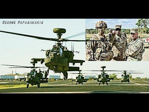 Δυσφορία στην Τουρκία από 145 ελικόπτερα και 1800 στρατιωτικά οχήματα που στέλνουν οι ΗΠΑ στη Θράκη