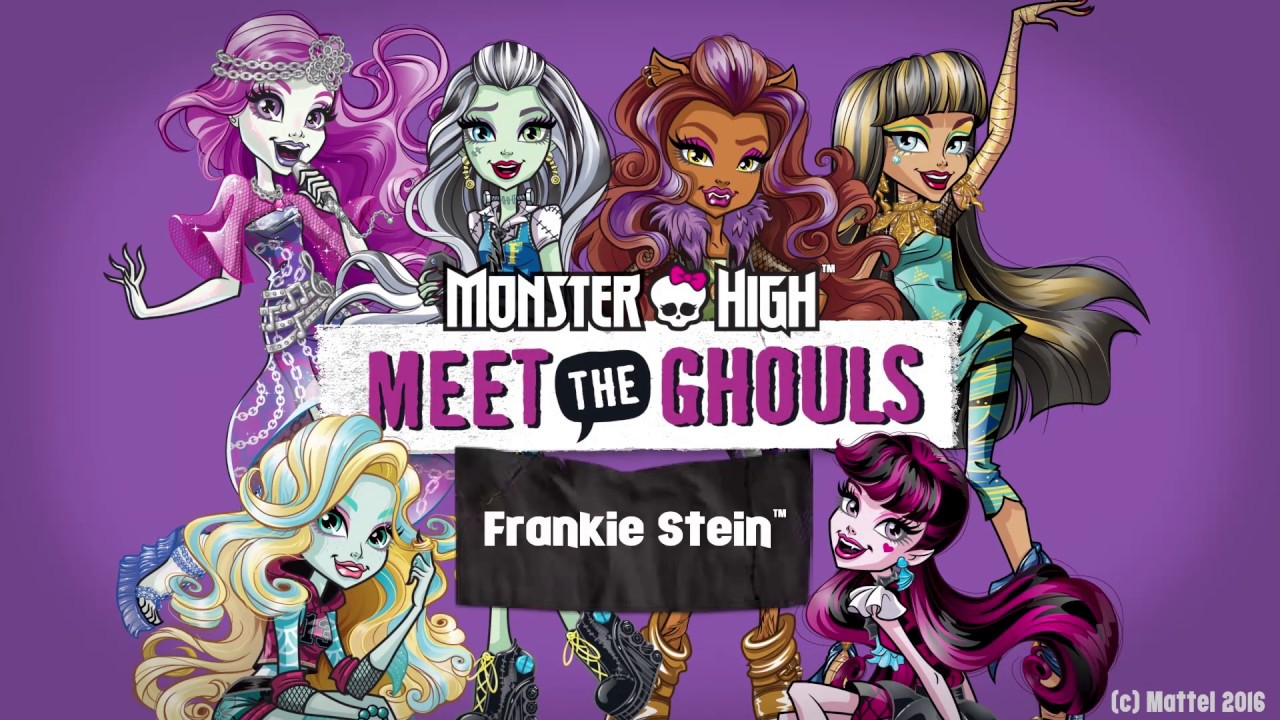 Uncategorized Frankie From Monster High frankie meet the ghouls monster high youtube