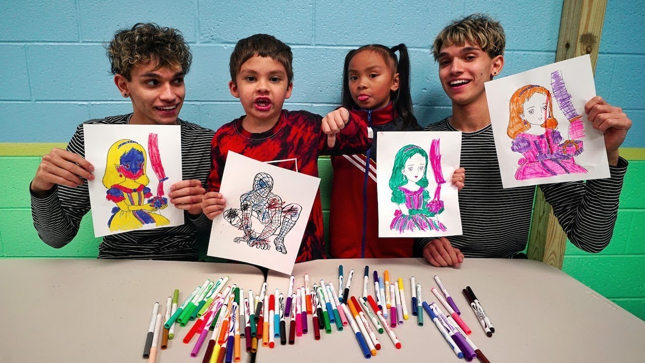 3-marker-challenge-w-our-little-brother-and-little-sister