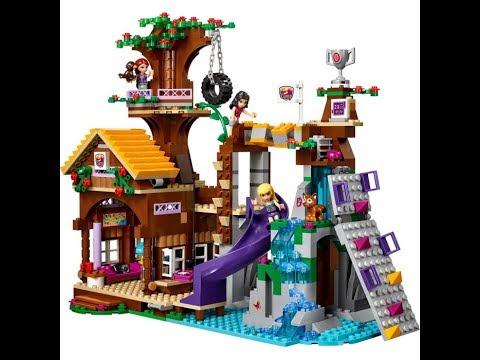 Klocki Lego Friends Domek Na Drzewie 41122 Youtube