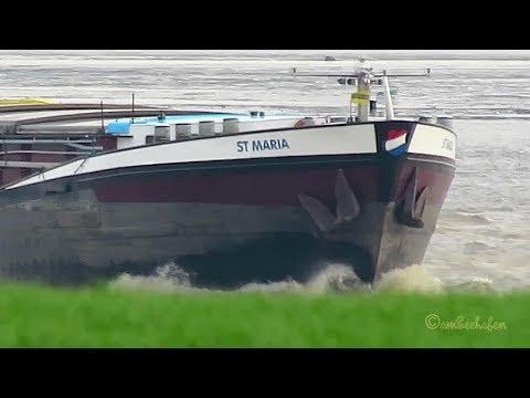 GMS ST.  MARIA PB7136 MMSI 244690857 Emden riverbarge inland cargo ship Binnenschiff