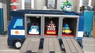 로보카폴리 경찰 캐리어카 출동 장난감 놀이 Roboca…