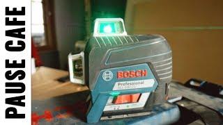 Laser 3 lignes vertes Bosch pro GLL 3-80CG - #pausecaféljvs