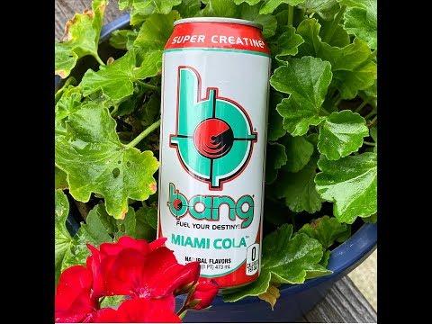 Bang Energy Miami Cola Review