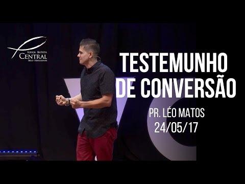 Testemunho de conversão | Léo Matos I Vox I 24/05/17