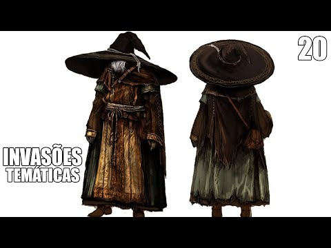 INVASÕES TEMÁTICAS #20 - BIG HAT LOGAN COSPLAY DARK SOULS 3