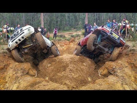 Treps 4x4 Challenge - Nissan vs Toyota