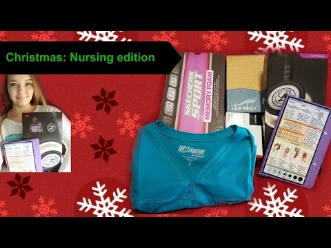 What I got for Christmas | Nursing edition