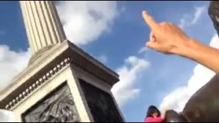 Leones Trafalgar Square fundidos con los canones de Trafalgar explicado por un pisha