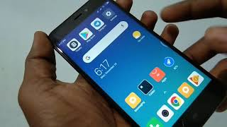 How to hard reset Redmi 4