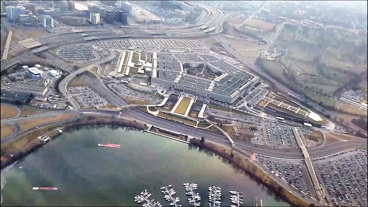 Dramatic Overflight Of Pentagon Reagan National