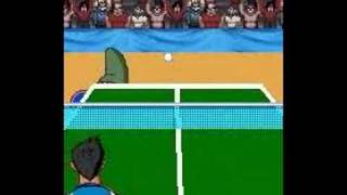 Super Slam Ping Pong trailer bounces in