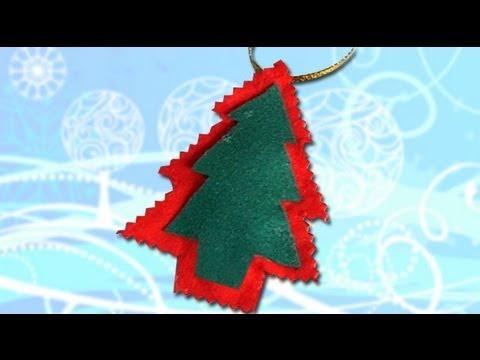 Arbol De Navidad Hacer Adornos Con Fieltro Manualidades Youtube