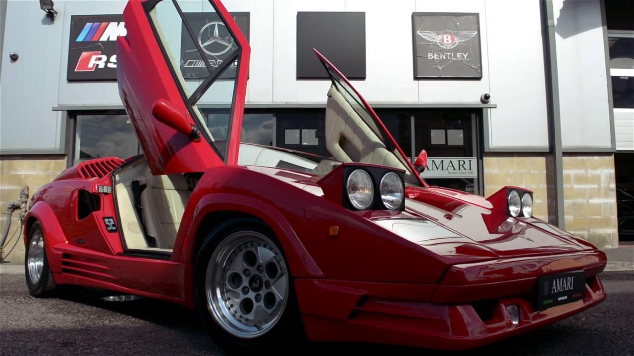 Lamborghini Countach 25th Anniversary Youtube