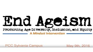 End Ageism
