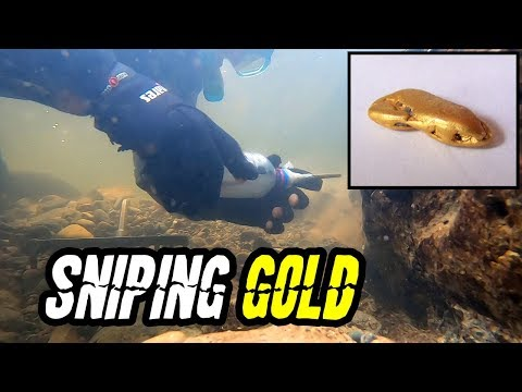 How To Find GOLD Sniping Underwater And More GOLD NUGGETS Found