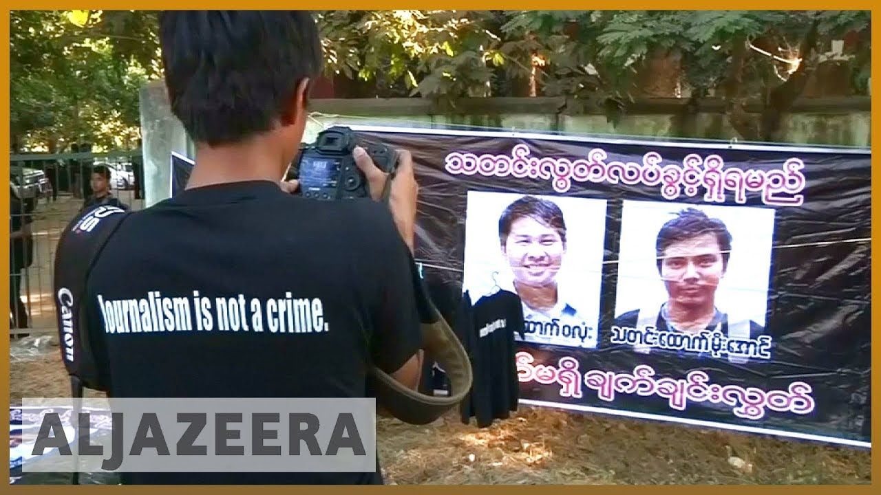?? Reuters journalists investigating Rohingya deaths to face trial | Al Jazeera English