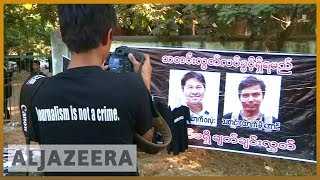 🇲🇲 Reuters journalists investigating Rohingya deaths to face trial | Al Jazeera English