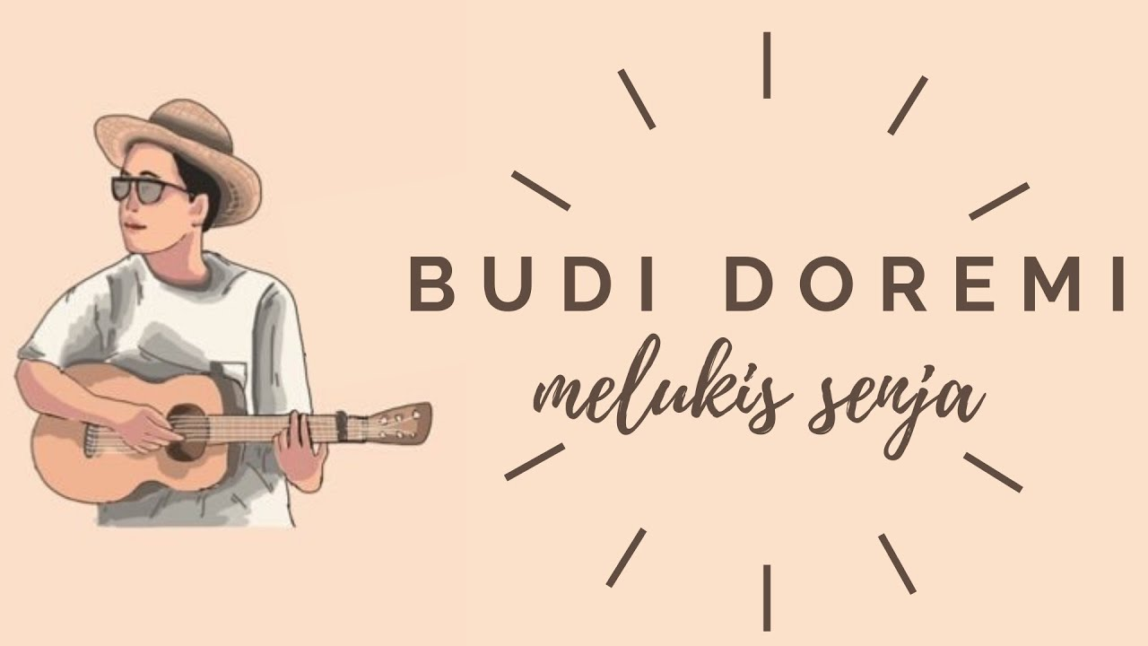 budi doremi melukis senja unofficial lyric video youtube