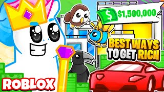 How to Become the RICHEST Player in Adopt Me! GET RICH QUICK! Roblox Adopt Me Money Hacks